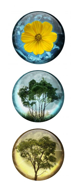 Nature button icons