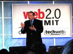 Al Gore at Web 2.0 conference