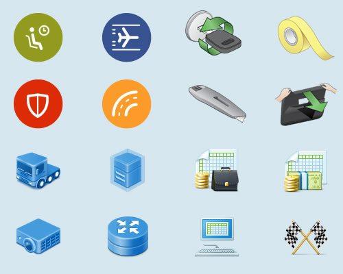 Custom icon designers