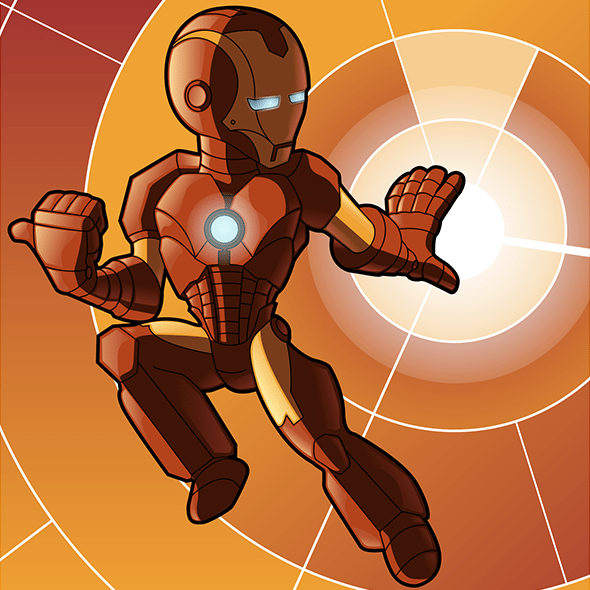 Iron Man App Icon