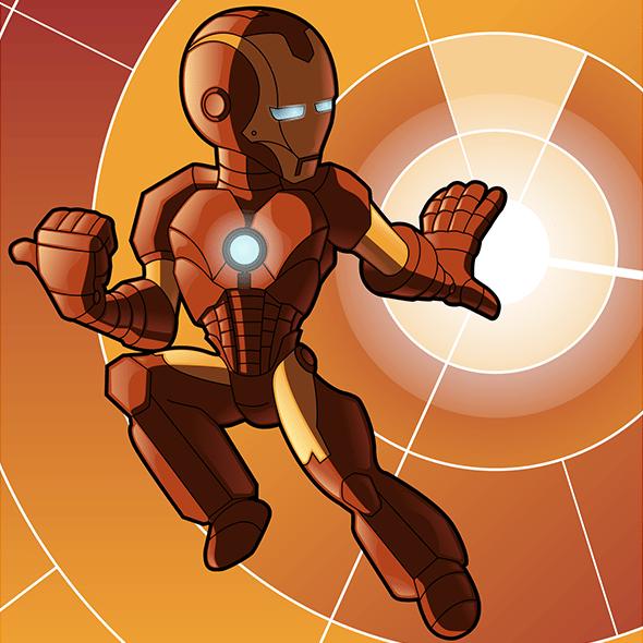 Iron Man App Icon