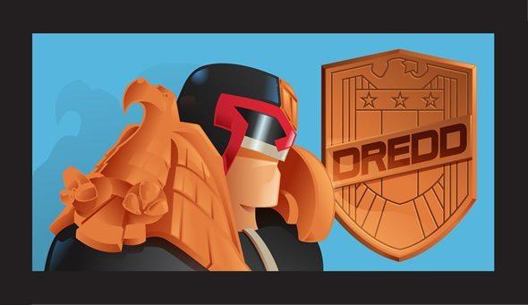 Judge Dredd Icons