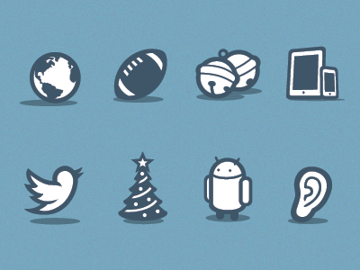 Flat Android Icons