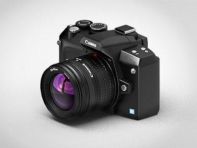 3D Camera Icon