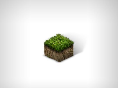 3D Earth Tile Icon