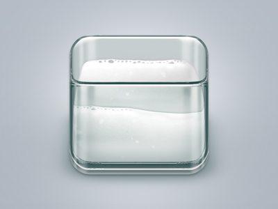 3D Milk Icon