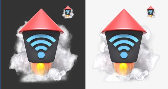 3D Android Icon