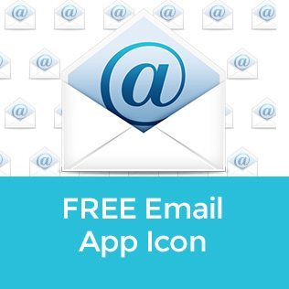 Free email app launcher icon
