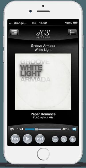 Music app interface design