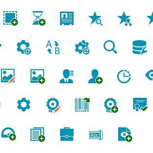 Windows UI Icon Design