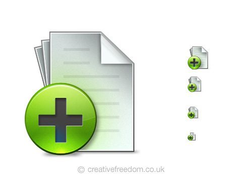 Free New Document Icon