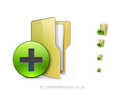 free-new-folder-icon