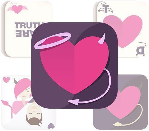 A choice of icon design concepts