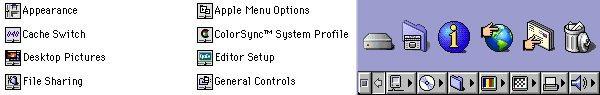 Mac OS 8 Icons