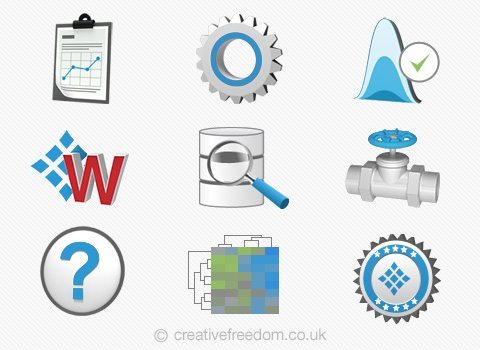 Windows 3D Icons
