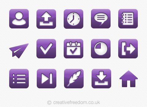 Delivery App Icons
