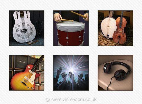Music Genre Icons