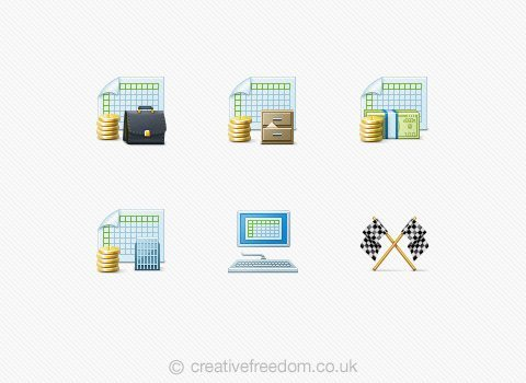 Accountancy Icons