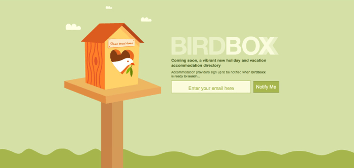 Birdbox web illustrations