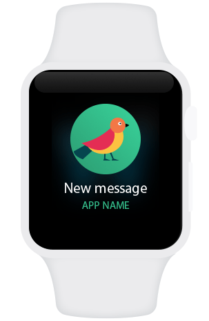 Apple watch new message