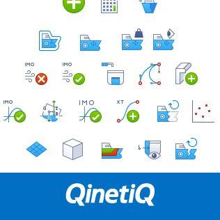 QinetiQ CAD Icons