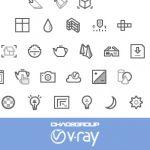 V-Ray CAD Icons