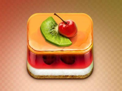 Jelly cake icon
