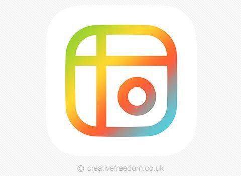 Mixgram's new ios app icon