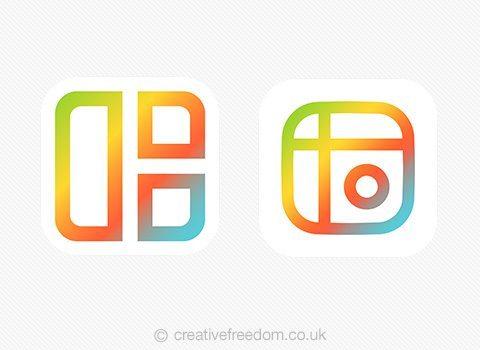 Mixgram iOS App Icon Shortlist Light BG