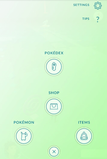 Pokemon Go icons
