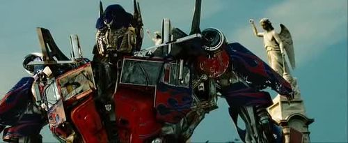 Transformer movie screenshot