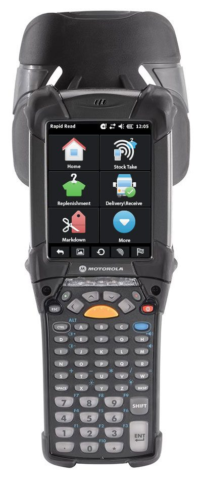RFID Scanner App Design