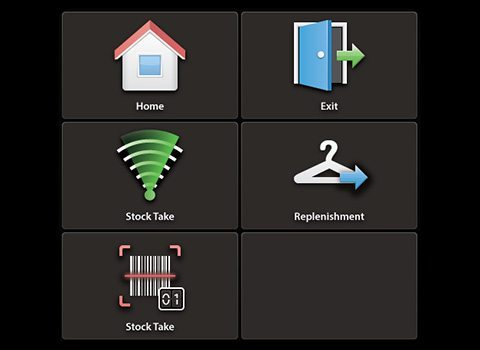 Tesco RFID App icons development