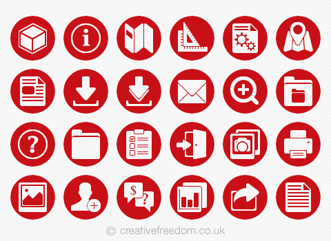 CAD Icons for CADdetails website