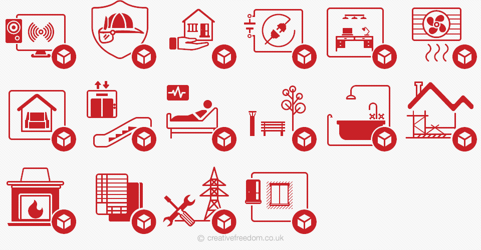 CAD Icons for CAD details website