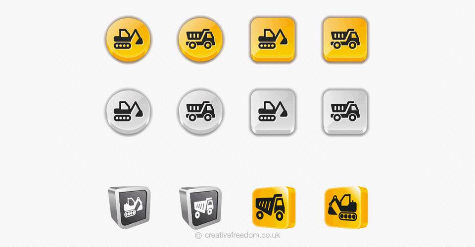 Website icon concepts