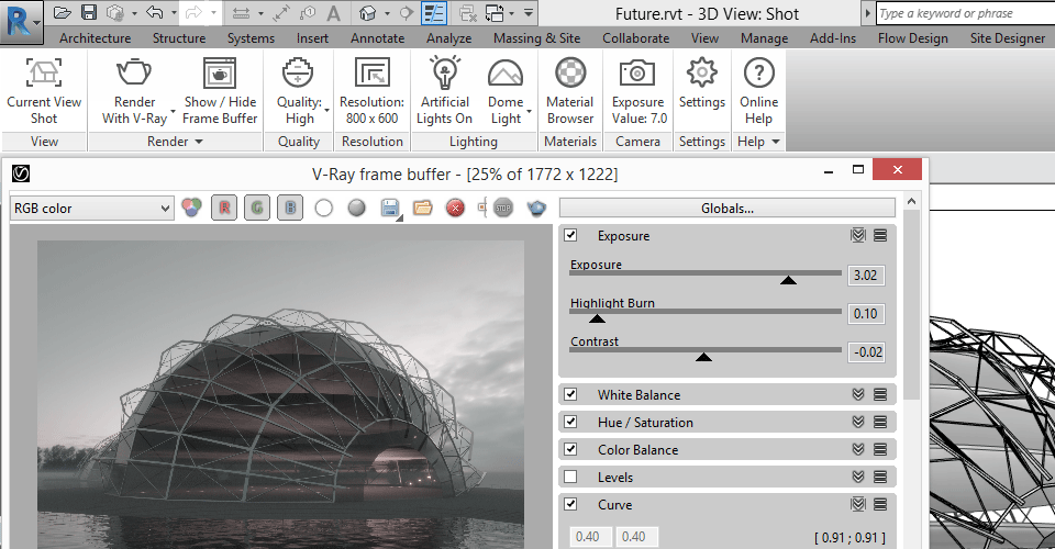 CAD Icons for V-Ray Rendering Engine