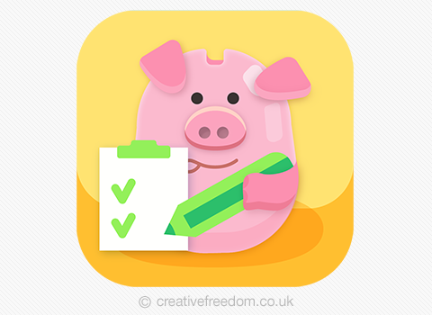 Piggy bank App Icon