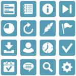 Flat Style Icons