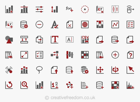 Vector Icons for Advizor Solutions